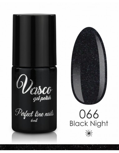 esmalte semipermanente vasco black night 066