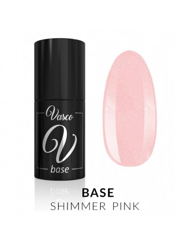 Base Vasco Shimmer Pink 6ml
