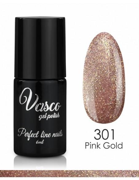 esmalte semipermanente vasco pink gold 301