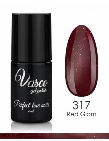 esmalte semipermanente vasco red glam 317