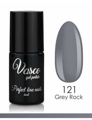 Esmalte semipermanente. VASCO LIMITED LINE 6 ml - 121 Grey Rock.