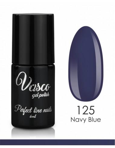 Esmalte semipermanente. VASCO LIMITED LINE 6 ml - 125 Navy Blue