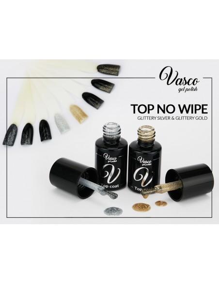 Top no wipe VASCO 6 ml Glittery Silver