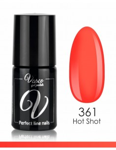 Esmalte semipermanente. LOCA LOCA BY IWONA FRIEDE 6 ml 361 Hot Shot