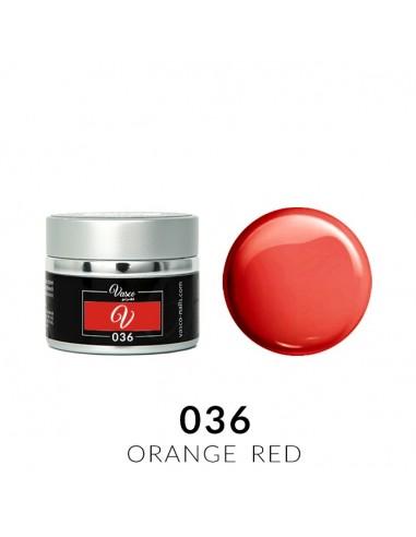 Gel Paint 036 Orange Red